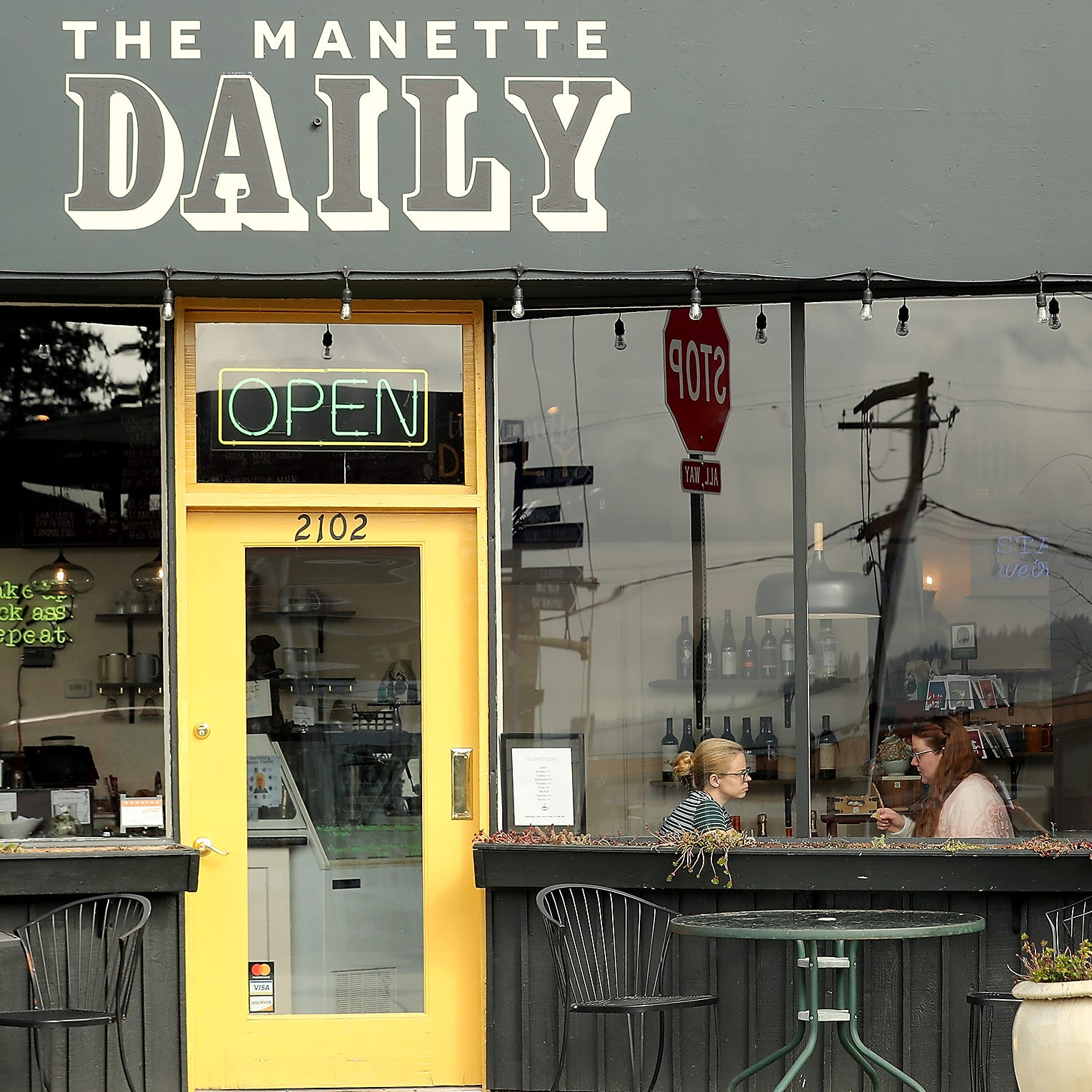 Manette's little neighborhood hangout keep changing