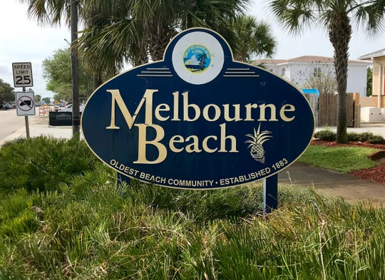 The town of Melbourne Beach.