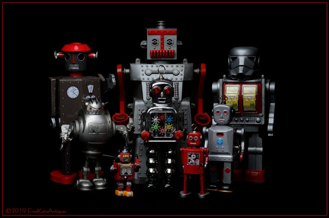 People collect everything from toy robots to stamps.