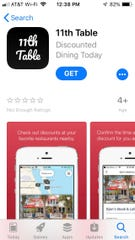 The 11th Table app is available for iOS and Android devices.