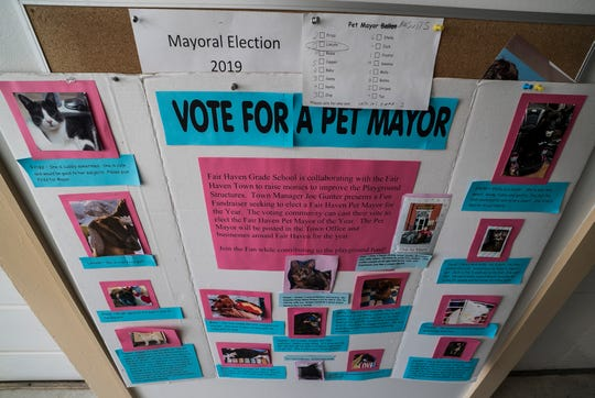 Lincoln, a 3-year-old Nubian goat, won a special pet election for mayor of Fair Haven, Vt., on Town Meeting Day, beating out more than a dozen other animals as part of a playground fundraiser.