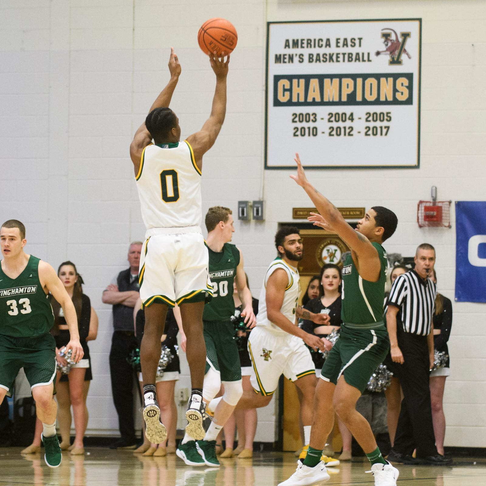 Red-hot Stef Smith powers UVM basketball into America East championship game