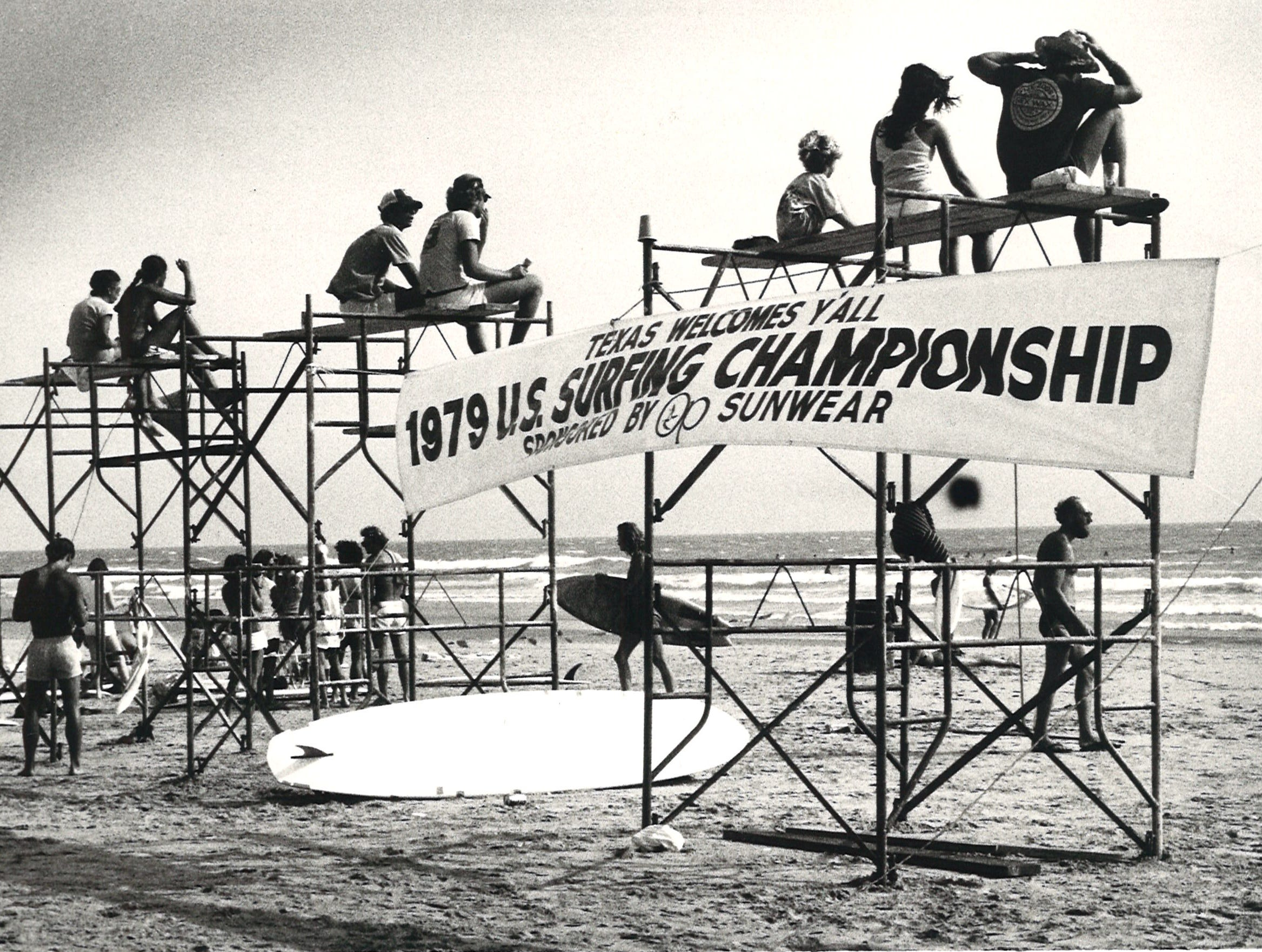 The U.S. Surfing Championship was held in Corpus Christi in 1979.