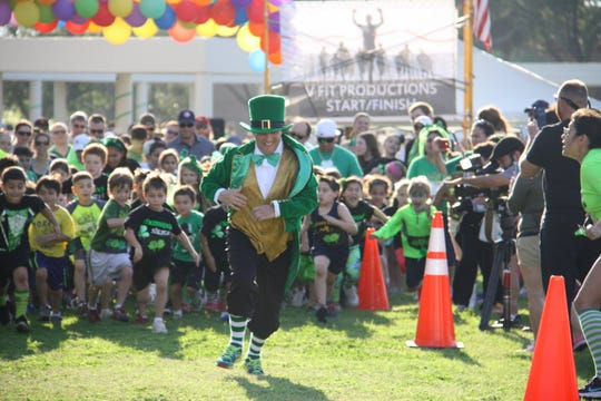 The Shamrock Shuffle 5K Run and the 1K Leprachaun Chase will kick-off the St. Patrick's Day Festival in downtown Corpus Christi on Saturday, March 16.