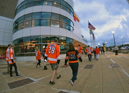 The Flyers are 18-13-4 at home this season