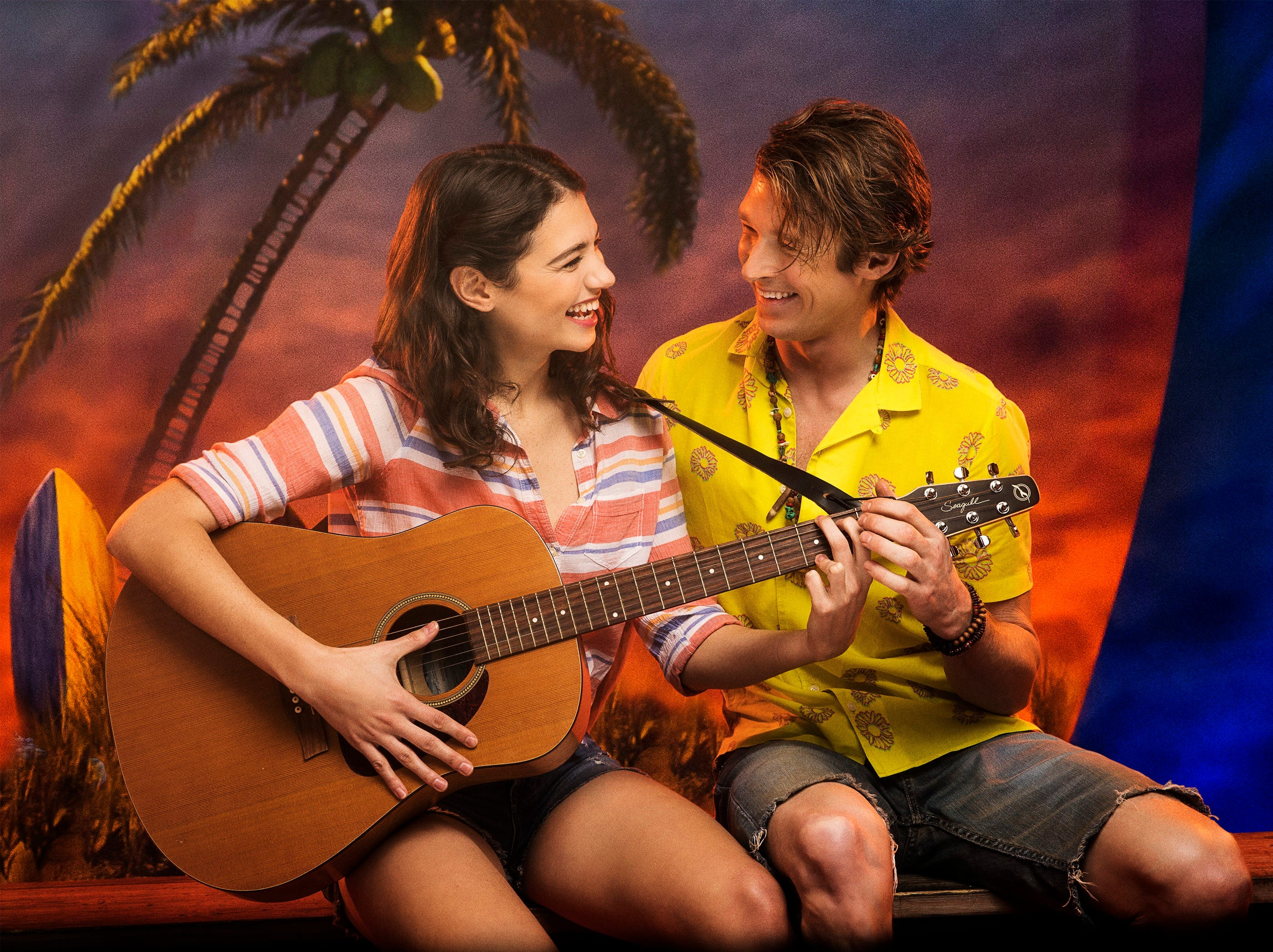 """A scene from """"Escape to Margaritaville,"""" a musical filled with the music of Jimmy Buffett."""