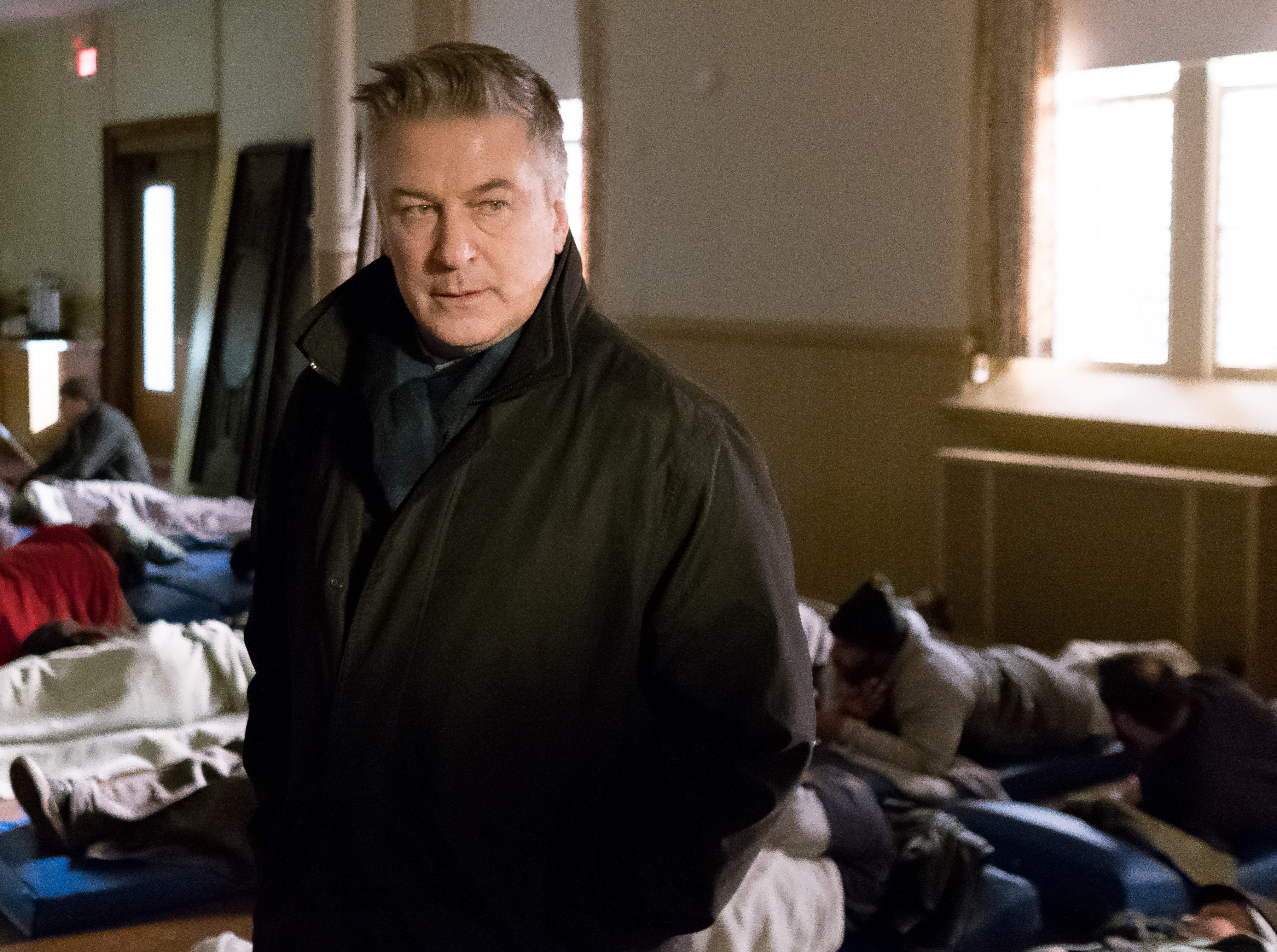 "Alec Baldwin as Detective Bill Ramstead in Universal Pictures Content Group's drama ""The Public."""