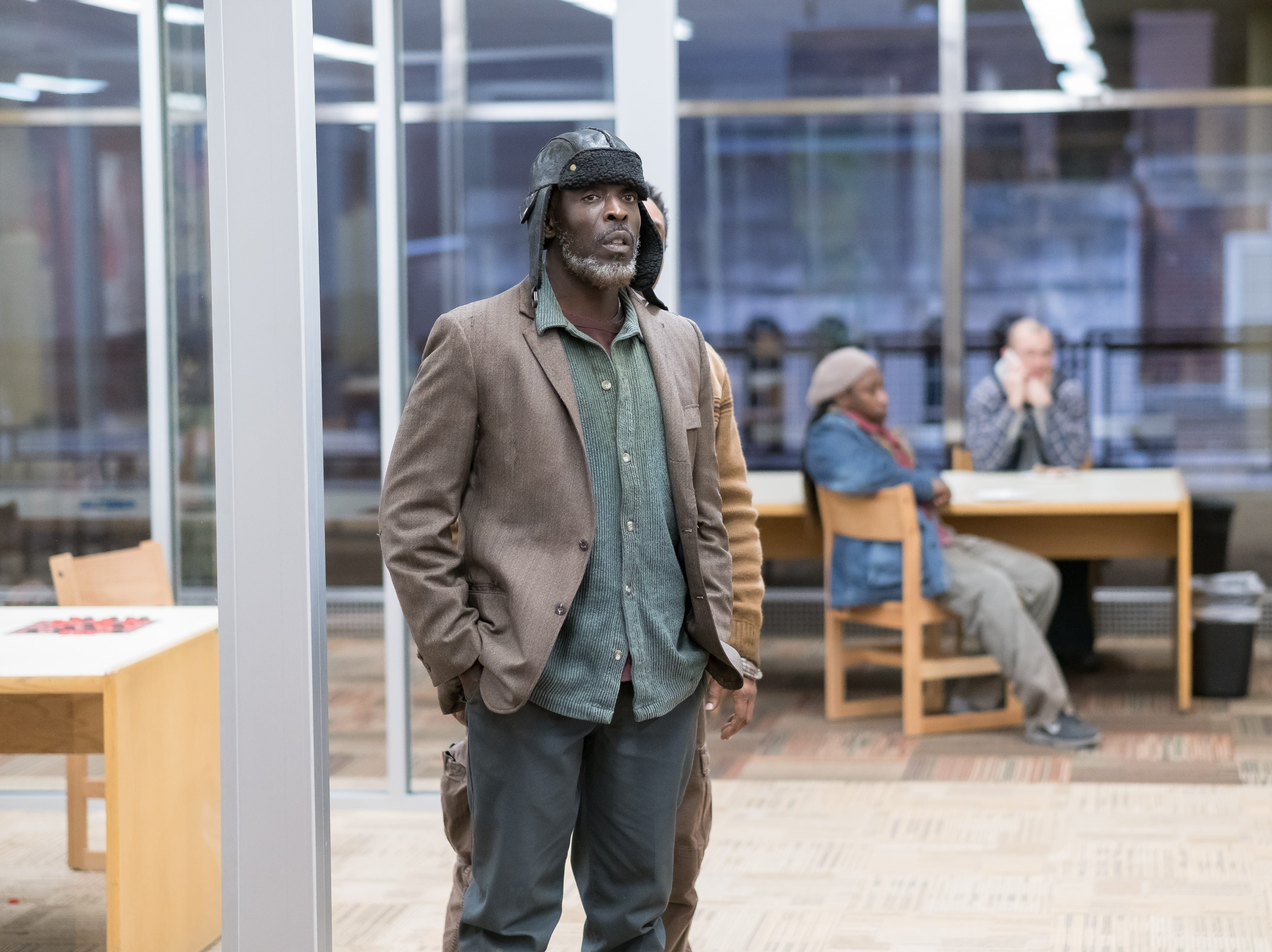 "Michael Kenneth Williams as Jackson in Universal Pictures Content Group's drama ""The Public."""