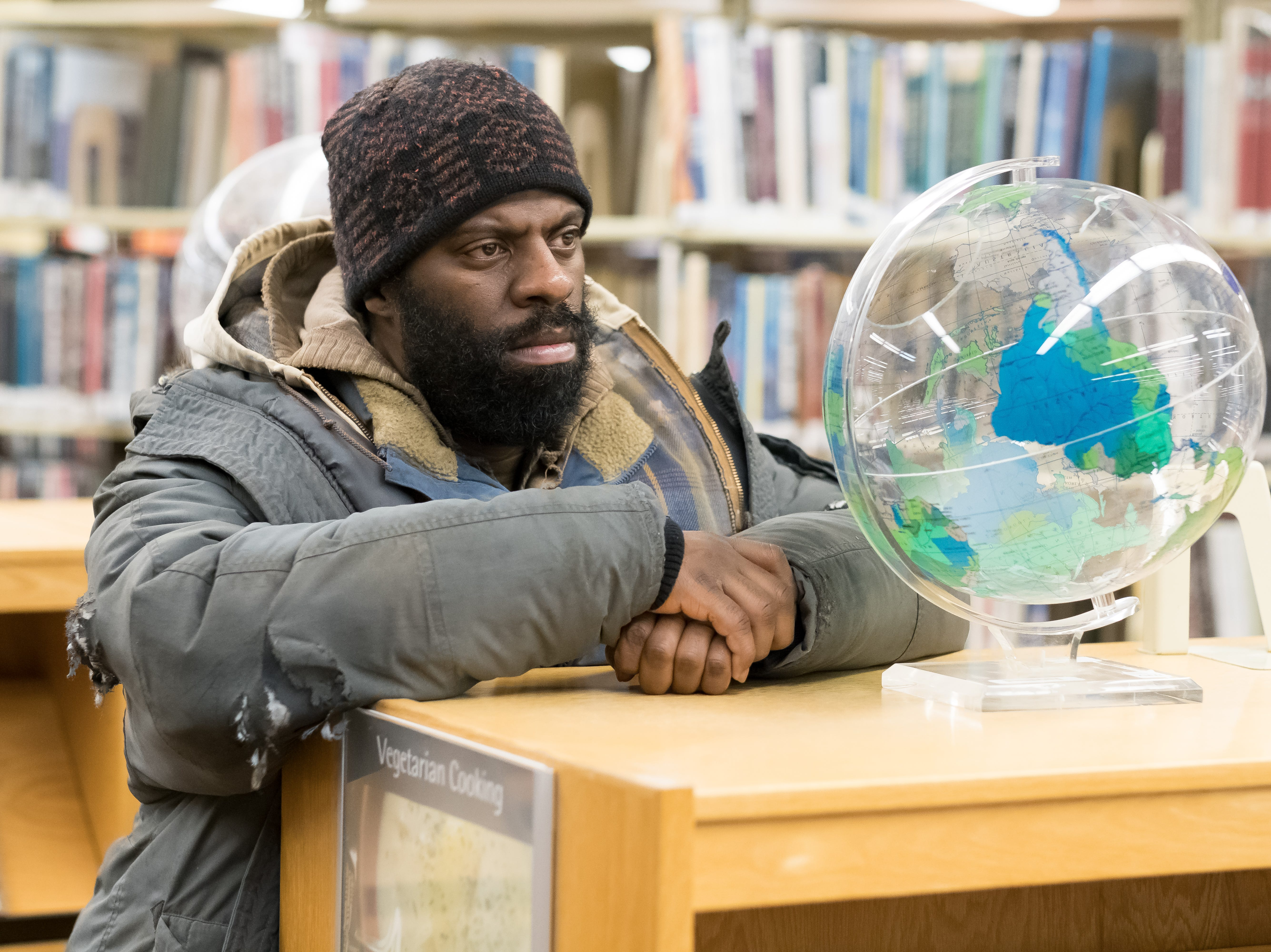 "Che ""Rhymefest"" Smith as Big George in Universal Pictures Content Group's drama ""The Public."""