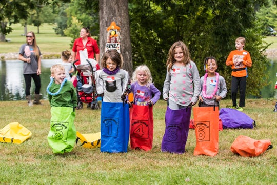 Sack races and arts and crafts are just a couple of the activities planned for the Children's Earth Day celebration at the Arlington Memorial Gardens.