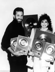 Emilio and Gloria Estefan.