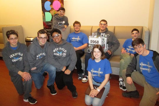 The Westfield High School Robotics Team recently competed in the semifinals of the FIRST Tech Challenge New Jersey Competition.