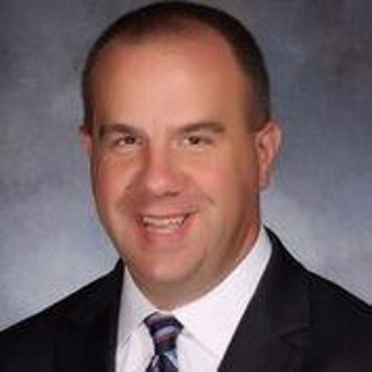Dr. Jim Reagan, Jr. class of 1996, Union Catholic Assistant Principal and Planned Giving Officer