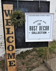 Rust Decor recently moved to a new 5,000 foot space at 1148 Walnut St. along with reclaimed and salvaged items, they are also sell vintage clothing and items from 12 local vendors.
