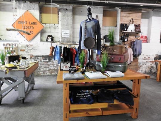 Rust Decor sells vintage clothing and a variety of items from 12 different local vendors at its new 5,000 foot space at 1148 Walnut St.