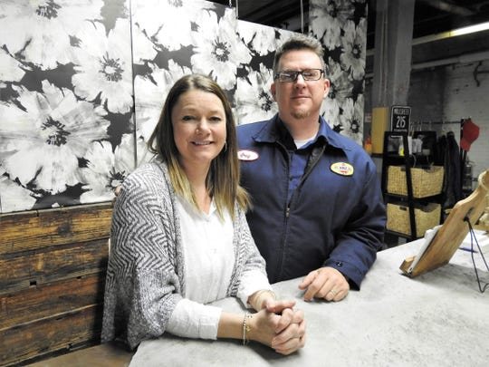 Jenny and Greg Coffman own Rust Decor, which recently moved to a new 5,000 foot space at 1148 Walnut St. along with reclaimed and salvaged items, they are also sell vintage clothing and items from 12 local vendors. Workshops have also been added teaching everything from art to clock making.