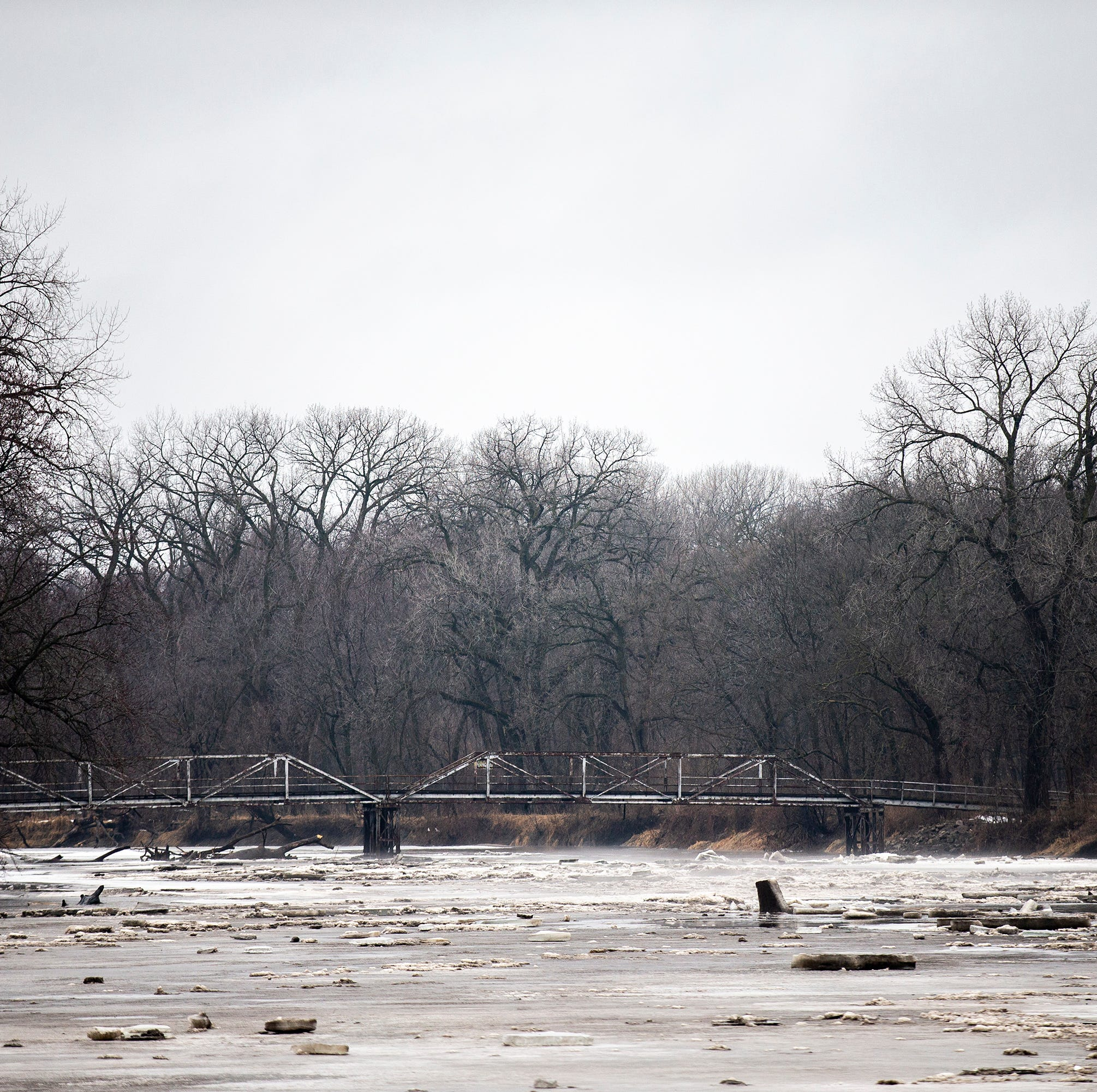 What areas of the Des Moines metro are at risk of flooding?