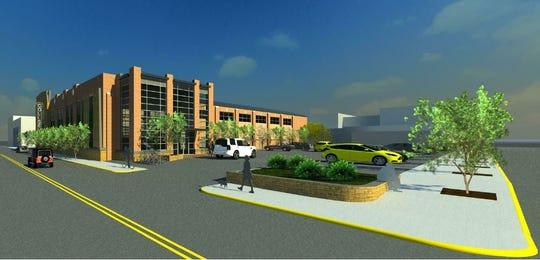 Renovation plans for the Marshalltown Veterans Memorial Coliseum.
