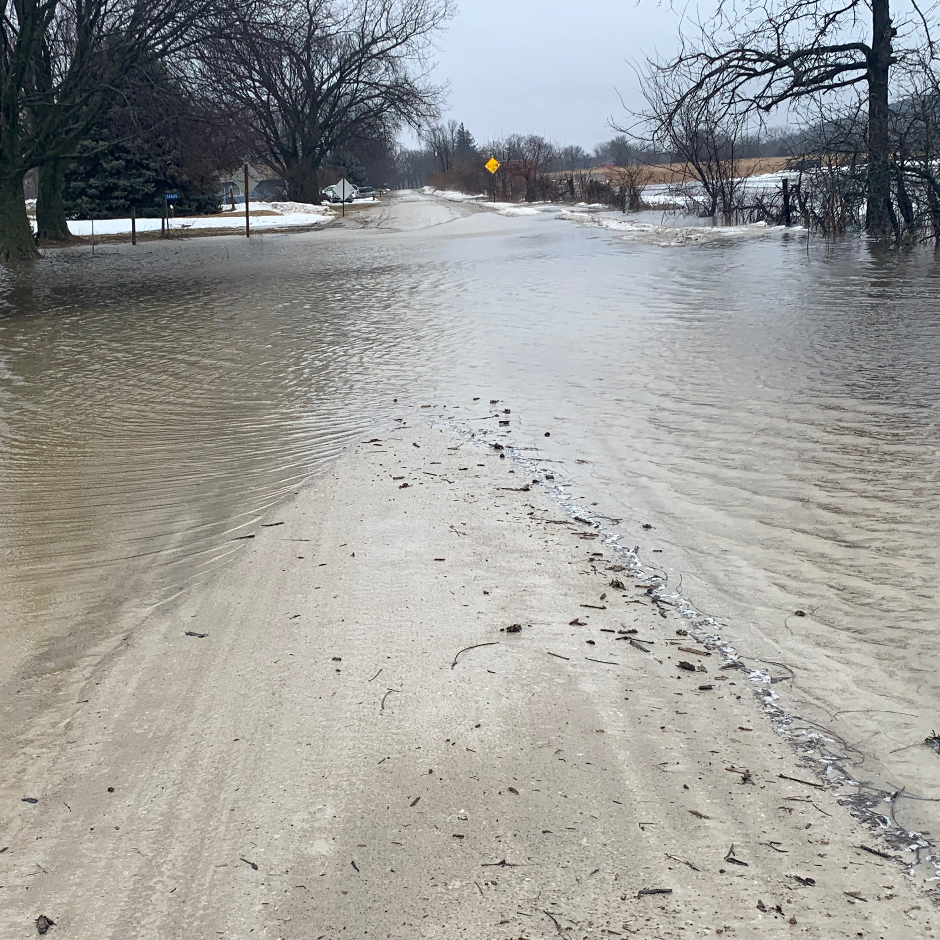 Western Iowa town declares state of emergency, evacuates because of rising floodwaters
