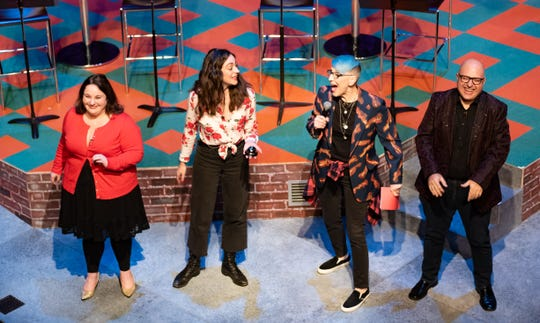 """Comedian Lisa Lampanelli debuts """"Losin' It"""" Feb. 4-23, 2020 at the Temple Theatre in Des Moines, Iowa."""