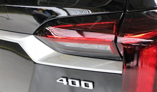 The new torque-based badging to debut on the 2020 Cadillac XT6 SUV.