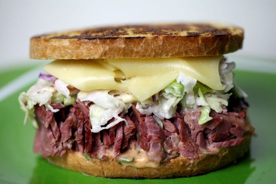 Corned Beef Reuben with Remoulade