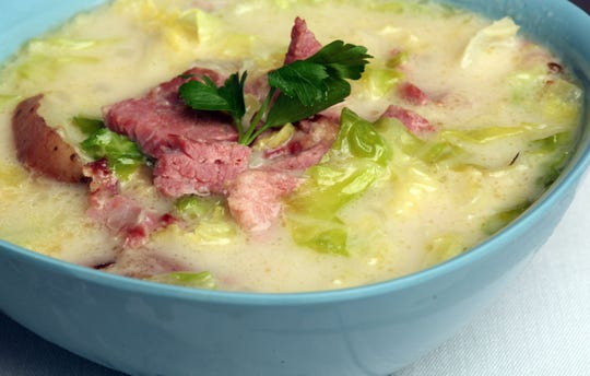 Corned Beef Reuben Soup