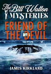 Cover of 'Friend of the Devil,' the first of 'The Bill Walton Mysteries' novels.