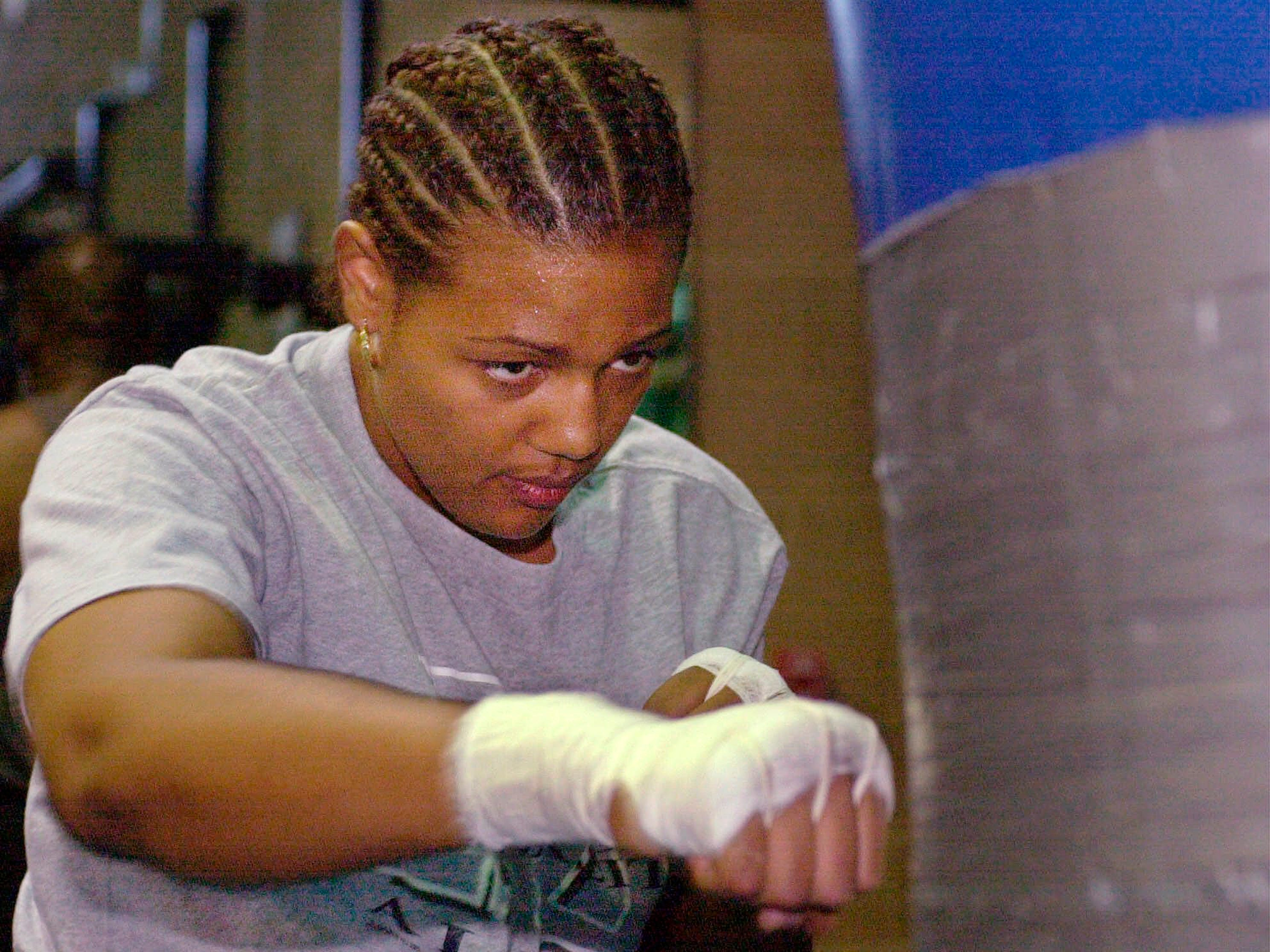 Freeda George Forman, the daughter of former heavyweight champion George Foreman and briefly a boxer herself. March 8. She was 42.