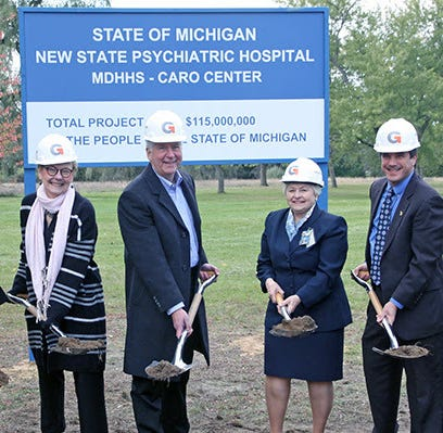 Whitmer halts work on new Caro Psychiatric Hospital