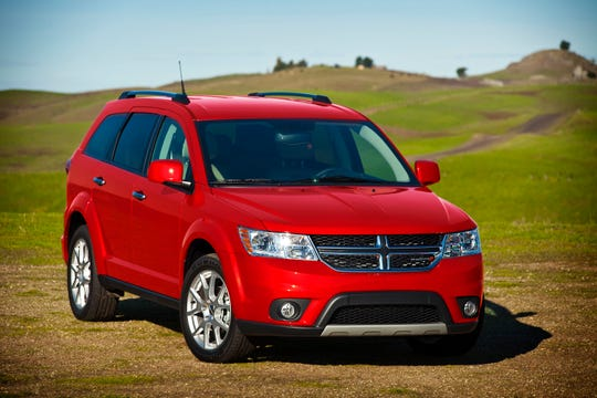 The 2011-2016 Dodge Journey is among Fiat Chrysler vehicles being recalled for not meeting federal pollution standards.