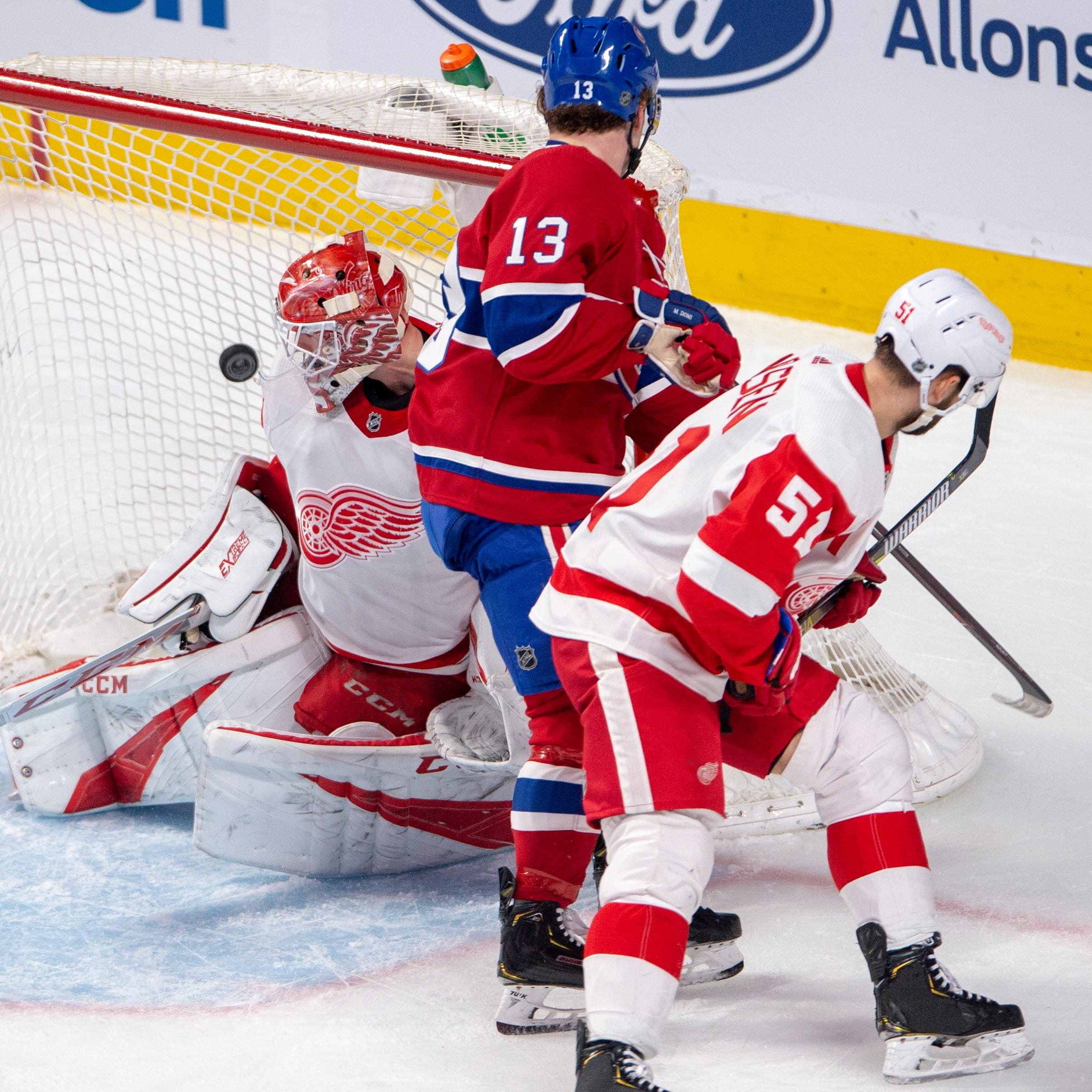 Red Wings clipped by Canadiens, eliminated from playoffs for third straight season