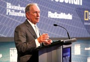 the former mayor of New York Michael R. Bloomberg.