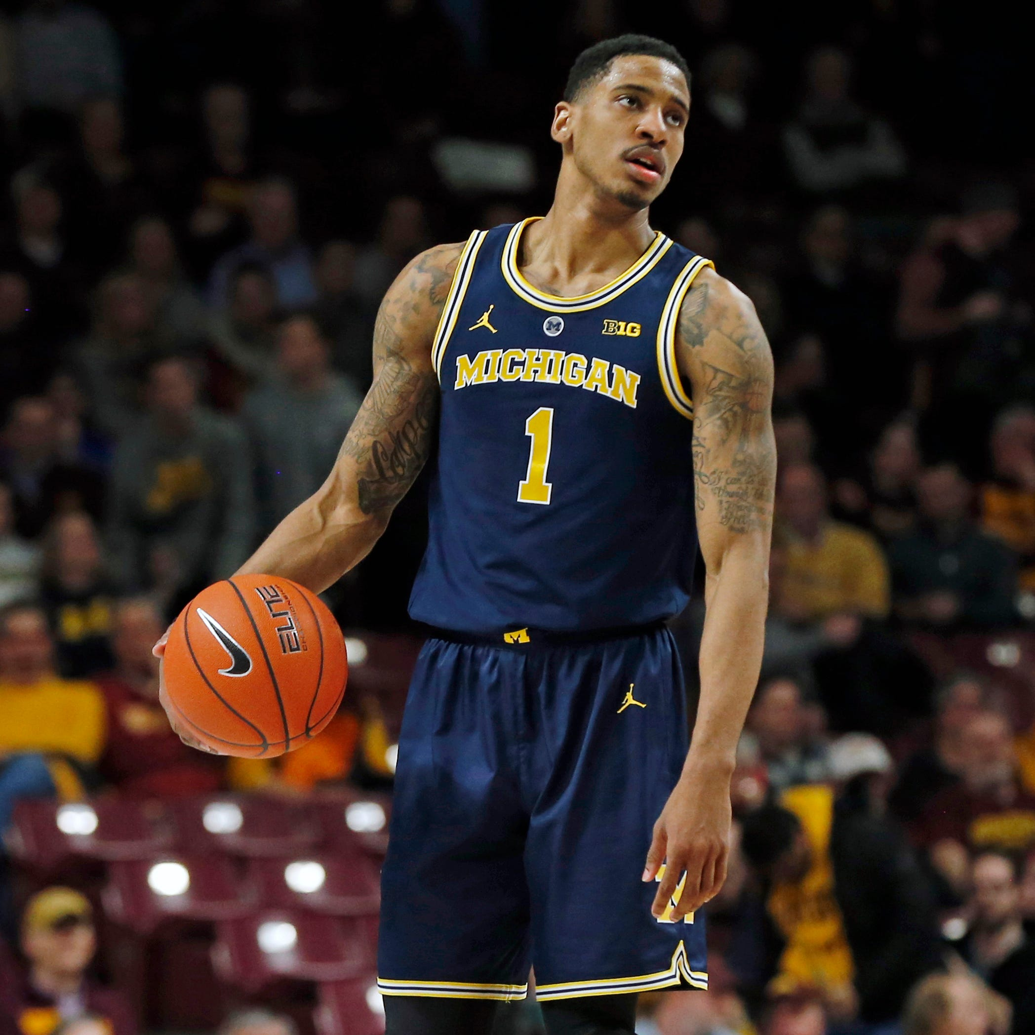 Michigan's Charles Matthews 'feeling better,anxious to play' but not 100 percent