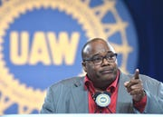 United Auto Workers President Rory Gamble
