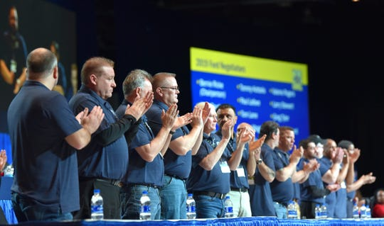 The United Auto Workers' Ford national bargaining team will face tough talks as they balance the a push for bigger share of profits with the uncertainties of an electrified future and its implications for their members.