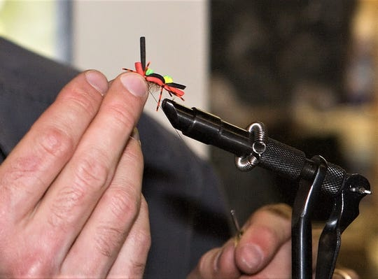 Many fly fishing enthusiasts tie their own flies.