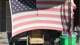 Courier & Press reporter Mark Wilson has been capturing American flags in Evansville's Jimtown neighborhood.