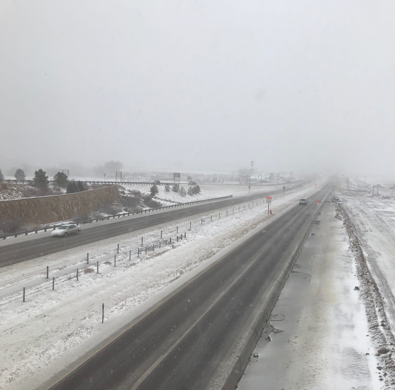 Bomb cyclone 2019: See videos of the storm's impact on Colorado road conditions