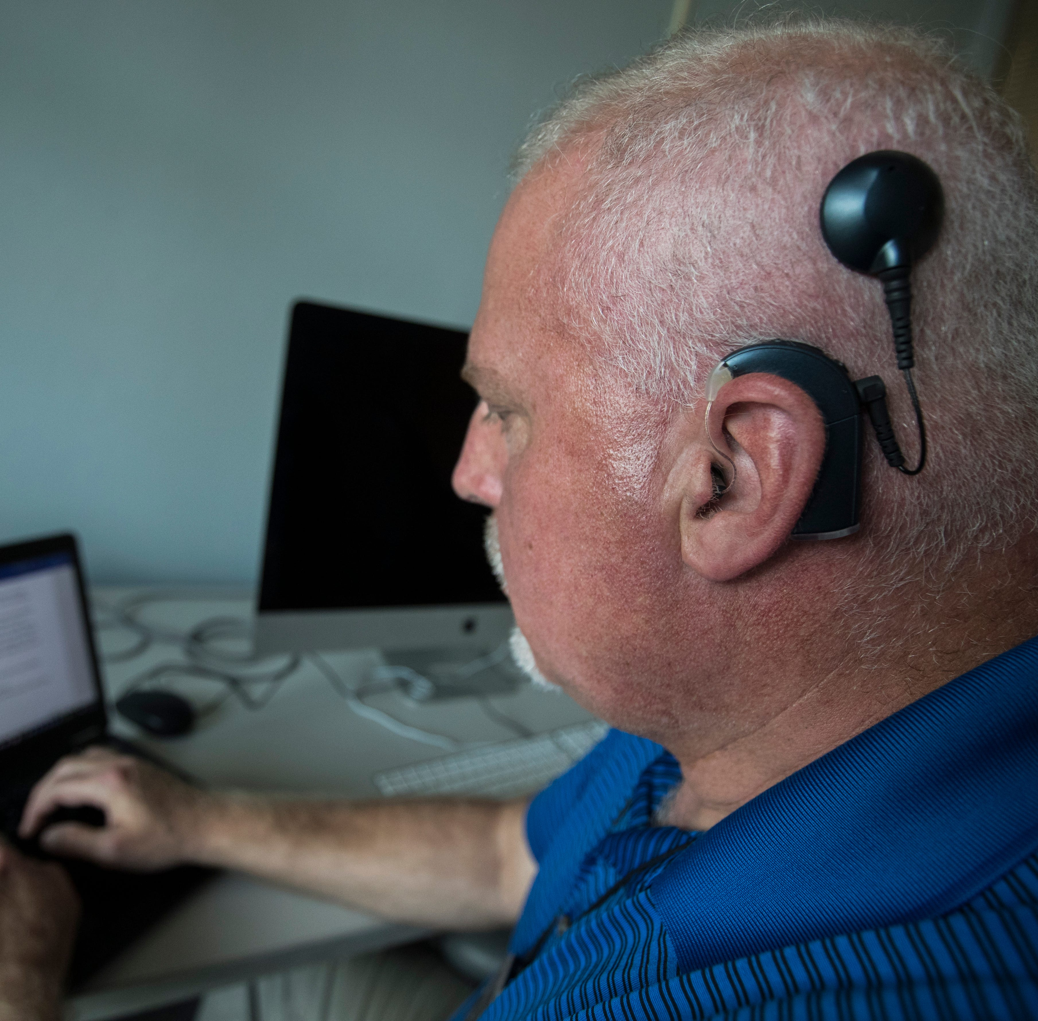 David Dorsey's hearing journey: How a cochlear implant brings sounds to life