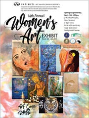 The 14th annual Women's Art Exhibit will be on display March 15 - 23.