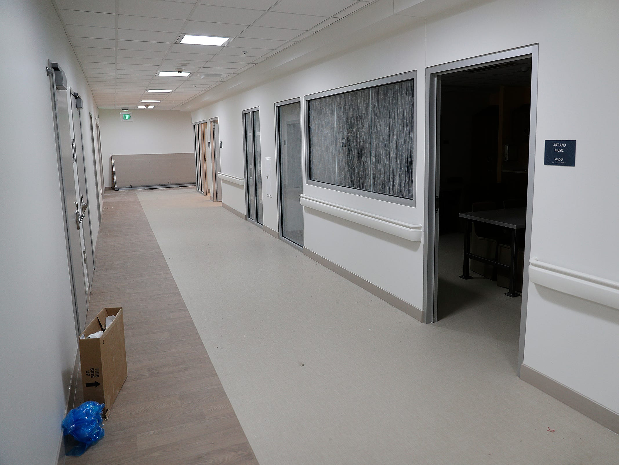This is part of the Treatment Mall at the new NeuroDiagnostic Institute, at 5435 E 16th St., will replace LaRue Carter as the center for mental health care on Wednesday, March 13, 2019.