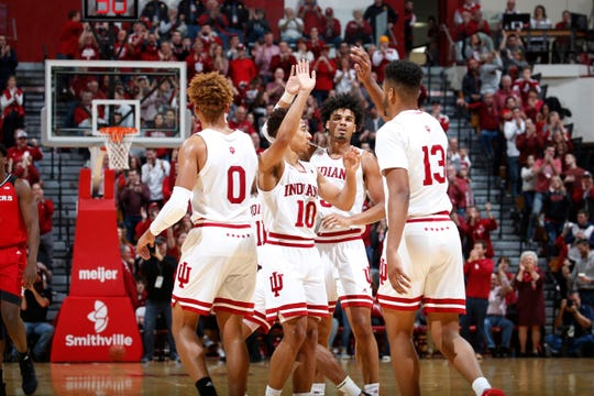 IU has won four games in a row entering Thursday's Big Ten tournament game vs. Ohio State.