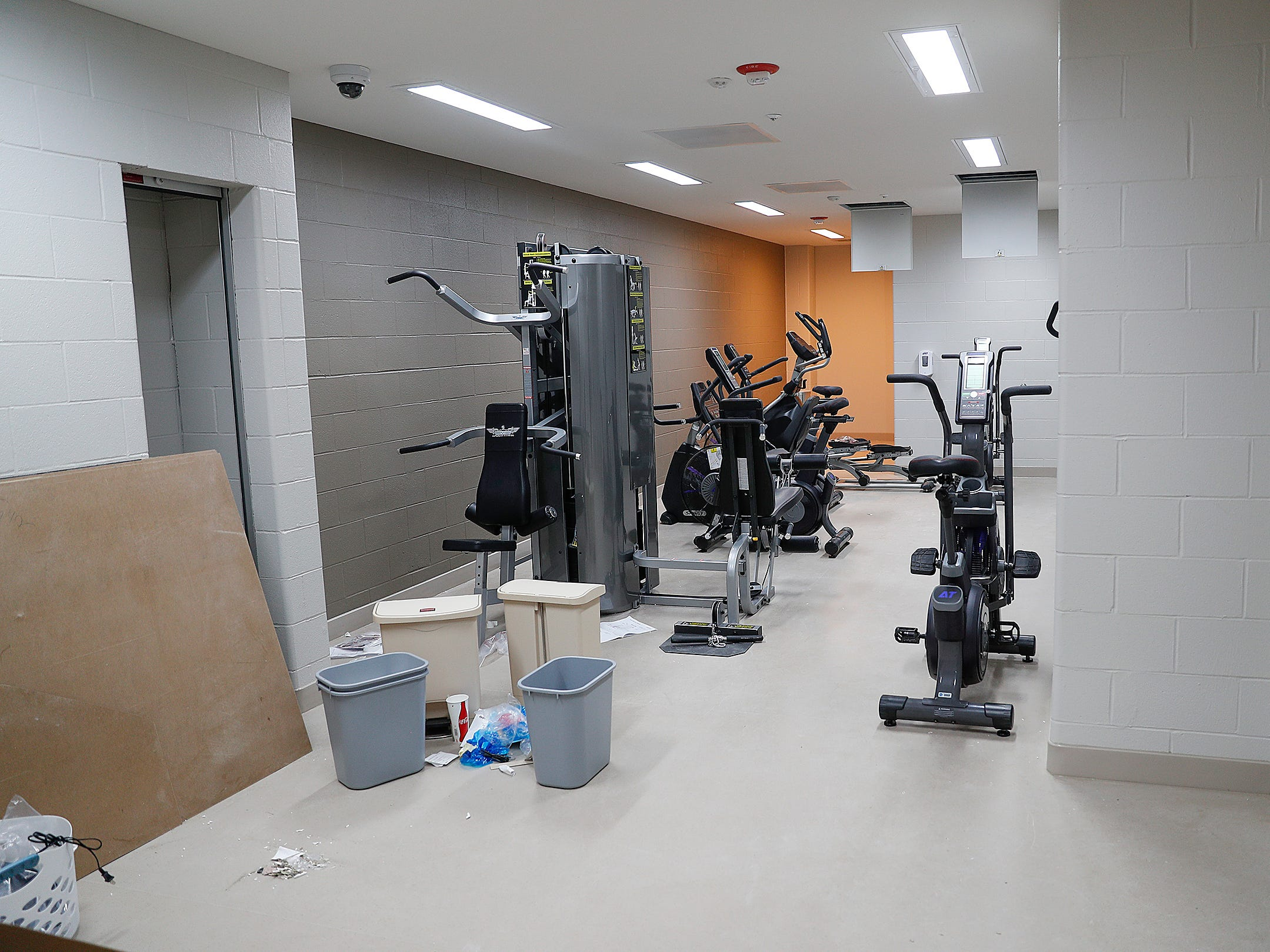 The exercise room in the Treatment Mall at the new NeuroDiagnostic Institute, at 5435 E 16th St., will replace LaRue Carter as the center for mental health care on Wednesday, March 13, 2019.
