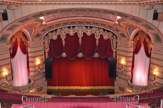 The venerable Paramount Theatre in Cedar Rapids will host the Metro Mix choir this April.