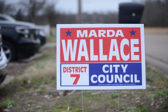 Candidates were allowed to start putting up election signs for the Jackson municipal election starting on March 4, 2019.