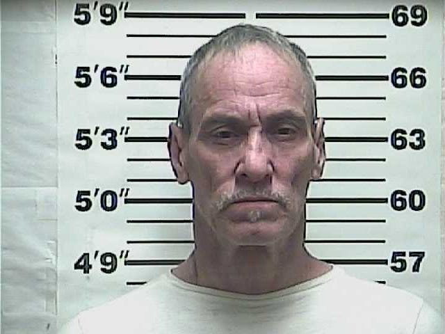 Clarence Allen Grantham, 59, was arrested and charged with indecent exposure, contributing to the delinquency of juveniles, possession of methamphetamine and possession of drug paraphernalia Tuesday.