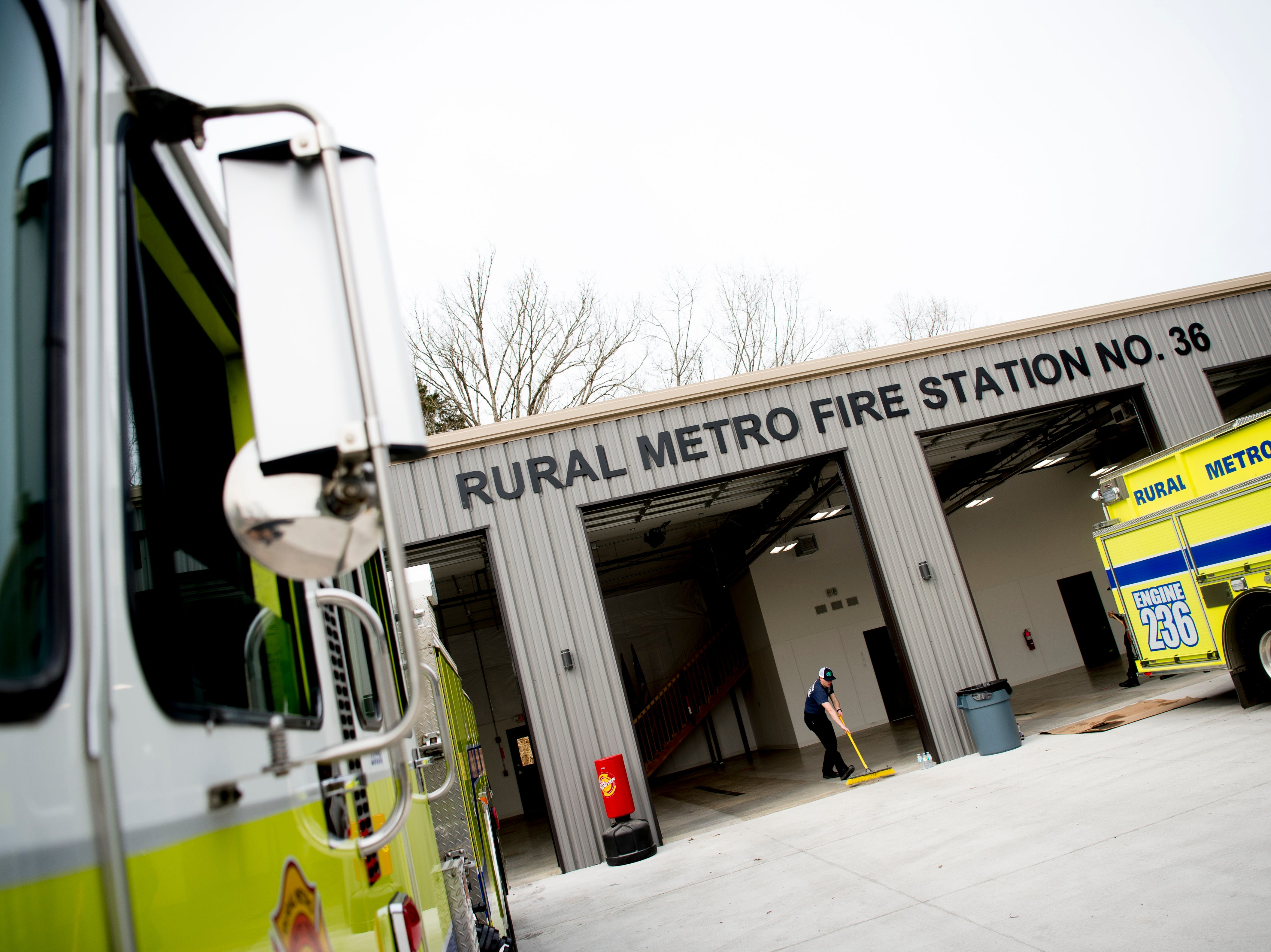 A view of the new Rural Metro Fire Station 36, 7615 Norman Jack Lane, in Powell, Tennessee on Wednesday, March 13, 2019. The station has been operational since early February and is hosting an open house and grand opening March 14 from 10am-7pm.