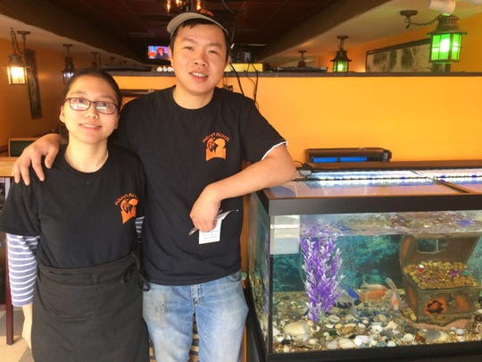Bruce Gong and his wife, Mantsui Tong, have opened Asian River restaurant.
