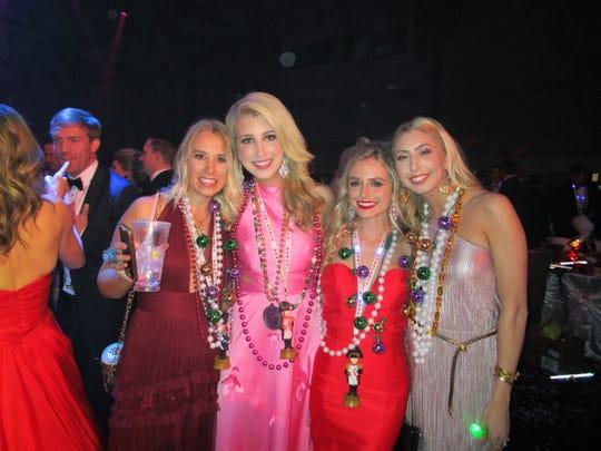 Ivy Leleux, Ann-Riley lane, Jacqueline Robin, Megan Sharon.